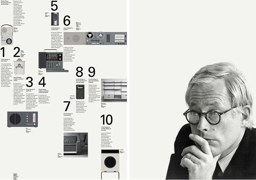 Dieter Rams 10 Principles Of Good Web Design Feature Net Magazine Find It Share It